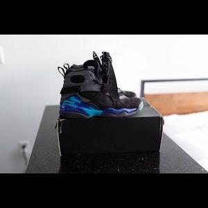Jordan Aqua 8 size 5Y